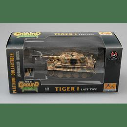 Tanque 1:72 Coleccion Tiger I (Late)Schwere 1944 Normandy