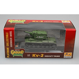 Tanque 1:72 Coleccion Kv-2 Tank With Russian Green
