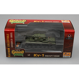 Tanque 1:72 Coleccion Russian Kv-1 Moscow August 1942
