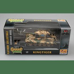 Tanque 1:72 Coleccion Tiger Ii Schwere Ss.Abt.501 Tank #224
