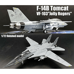 "Avion 1:72 Coleccion F-14B Tomcat Vf-103 ""Jolly Rogers"""