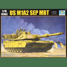 Tanque 1:16 Para Armar Us M1A2 Sep Mbt]