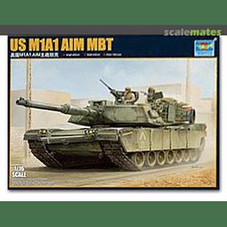 Tanque 1:16 Para Armar Us M1A1 Aim Mbt