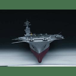 Barco 1:350 Para Armar Aircraft Carrier-Cv68 Nimitz 1975