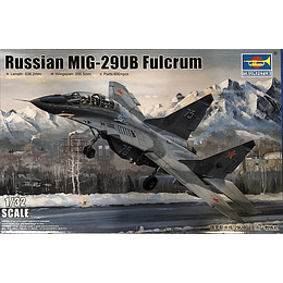 Avion 1:32 Para Armar Russian Mig-29Ub Fulcrum