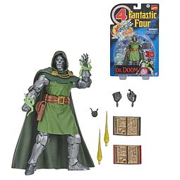 Figura Colección Doctor Doom Action Figure Fantastic 6-Inch