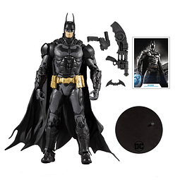 Figura Colección 7-Inch Batman Knight  Dc Gaming Wave 2