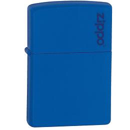 Encendedor Zippo Azul Real Mate Logo Zippo