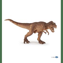Papo Brown Running T-Rex /  T-Rex Marrón corriendo