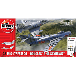Mig 17 & Douglas Skyhawk Dogfight 1/72