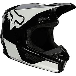 Casco Fox V1 Revn Ece 2021 Blk/Wht Talla M