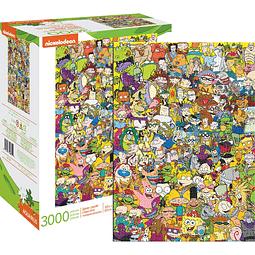 Rompecabezas Nickelodeon 90S 3000P
