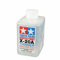 Pintura Modelismo Acrylic Poly Thinner  X-20A