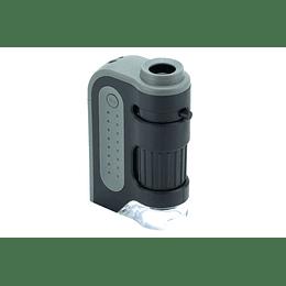 Mini microscopio 60-120X con luz Led