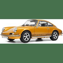 Carro Colección Porsche 911 S Coupe 1973 Gold 1/18