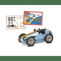 Carro cuerda vintage Grand Prix Racer #8 Construction Kit