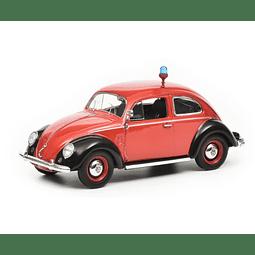 Carro Colección Vw Kafer Ovali Feuerwehr 1/43