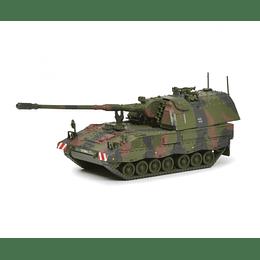 Tanque Colección Pzh 2000 Camouflage 1/87