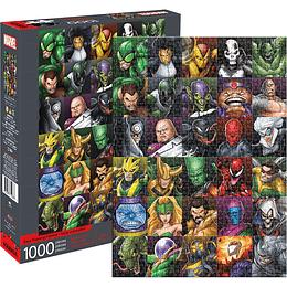 Rompecabezas Marvel Villains Collage 1000 Piezas