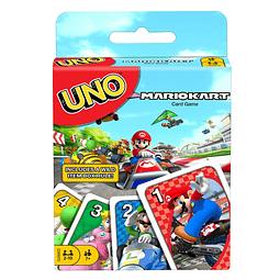 Juego de Mesa Mario Kart Uno Game