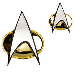 Figura Colección Communicator Badge And Pin Set Star