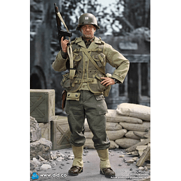 Figura Colección WWII US 2nd Ranger Battalion Series 3 Captain Miller