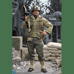 Figura Colección WWII US 2nd Ranger Battalion Series 3 Captain Miller