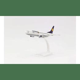 """Avión Colección Lufthansa Boeing 737-300 """"Fanhansa"""" 1/200"""