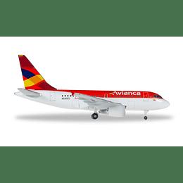 Avión Colección  Avianca Airbus A318 1/500