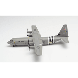 """Avión Colección U.S. Air Force Lockheed Martin C-130J-30 Super Hercules - 62nd Airlift Squadron, 314th Airlift Wing, Little Rock Air Base – """"D-Day Heritage Flight"""" 1/200"""