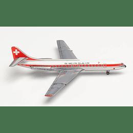 "Avión Colección Swissair Sud Aviation SE-210 Caravelle ""schwyz"" 1/500"