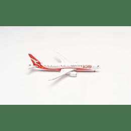 """Avión Colección Qantas Boeing 787-9 Dreamliner - 100th Anniversary """"Longreach"""" 1/500"""