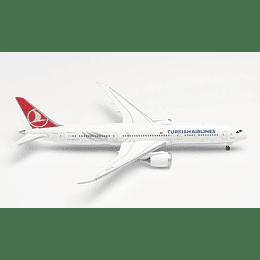 "Avión Colección Turkish Airlines Boeing 787-9 Dreamliner ""Maçka"" 1/500"