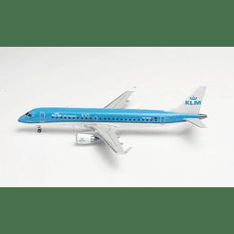 Avión Colección KLM Cityhopper Embraer E190 1/200