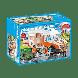 Playmobil Ambulancia Con Luces