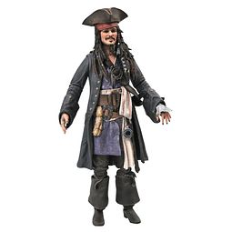 Figura Colección Jack Sparrow Pirates Of The Caribbean - 7 Pulgadas