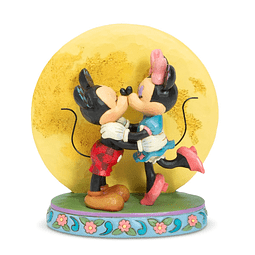 Figura Colección Mickey and Minnie by Moon Magic and Moonlight by Jim Shore Statue