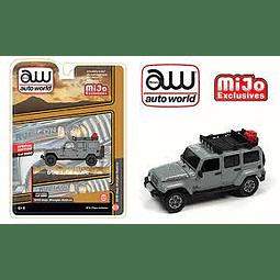Carro Colección  2018 Jeep Wrangler Rubicon 1/64