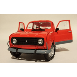 Carro armado y pintado Renault 4 GTL 1/24