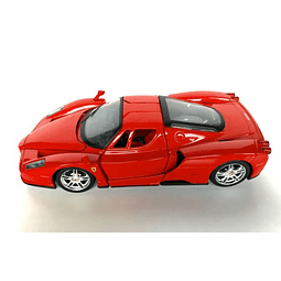 Carro Colección  Ferrari Enzo Red W/Black 1/64