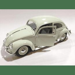 Carro Armado Y Pintado  VW Escarabajo 1951 1/16