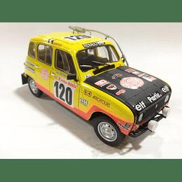 Carro Armado Y Pintado Renault 4L RALLY 1/24