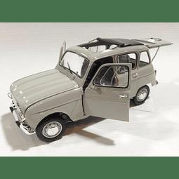 Carro Armado Y Pintado Renault 4L 1/24