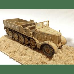 Tanque Armado y Pintado semioruga Sd Kfz 9 Famo 1/72