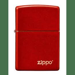 Encendedor Zippo Rojo Anodizado