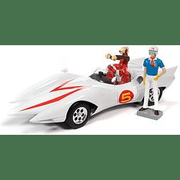 Carro Colección Speed Racer Mach 5 1/18