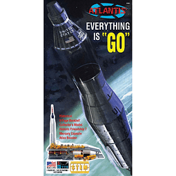 Para armar cohete Atlas John Glenn Mercury  1:110