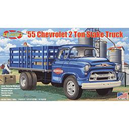 Para armar Camión Chevrolet de estacas 1955 1:48 Plastic Model Kit 1/48
