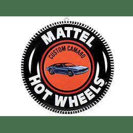 "12 ""Lámina decorativa Hot Wheels  Camaro edición limitada"