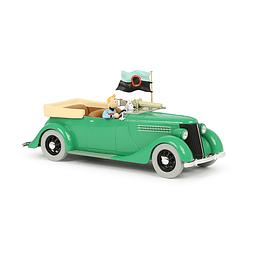 Carro Colección 1/24 #12 - Ford V8 Armored Tintin con urna